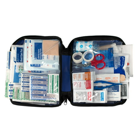 First Aid Only First Aid Kit, Fabric Pouch, 260 Pc