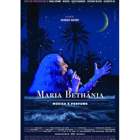 Maria Bethania: Music Is Perfume POSTER Movie (27x40) - Maria Brink Halloween