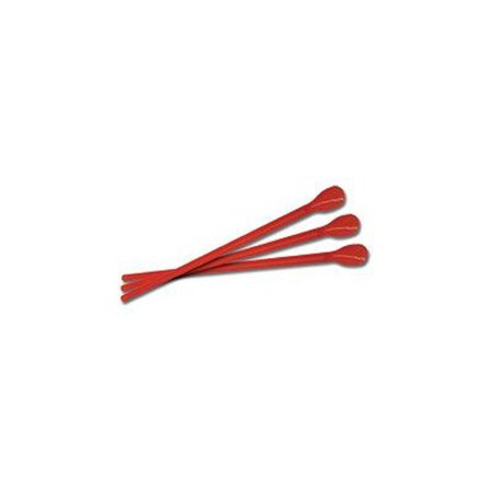 Case of 200 Red Spoon Straws for Concession Stands and Parties