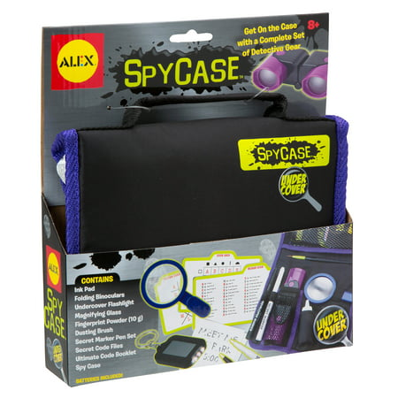 Spy Gear Safe (ALEX Toys Undercover Spy Case Detective Gear)