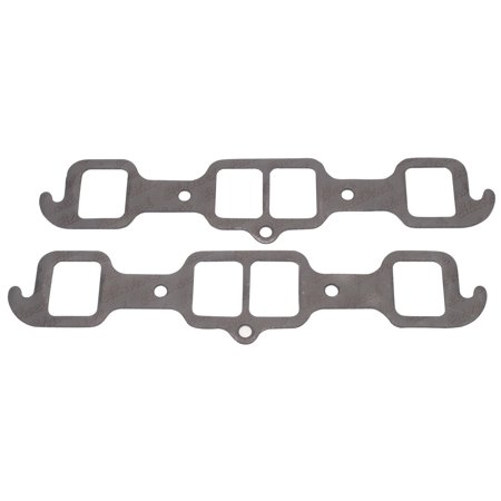 Edelbrock 7238 Exhaust Header Gasket  Composite With Steel Core; Set of 2; 1.95 Inch x 1.56 Inch - image 1 de 1