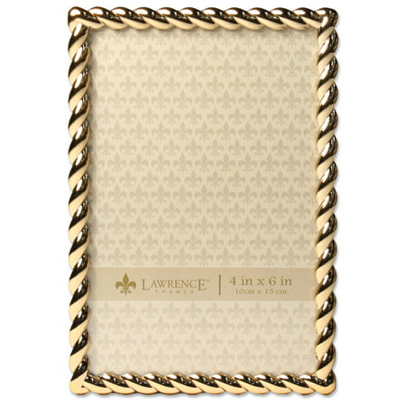 4x6 Golden Rope Picture Frame