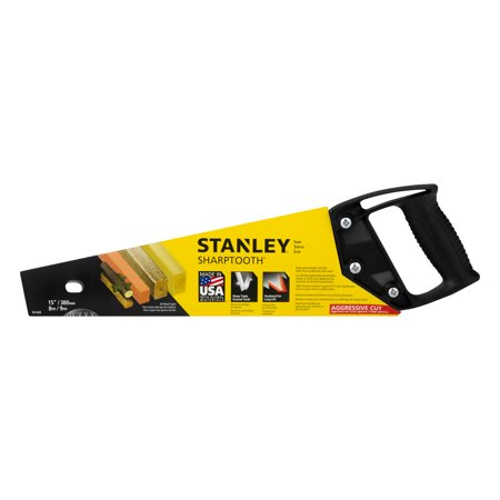 Stanley Sharp Tooth Saw, 1.0 (Raker Tooth Bow Saw)