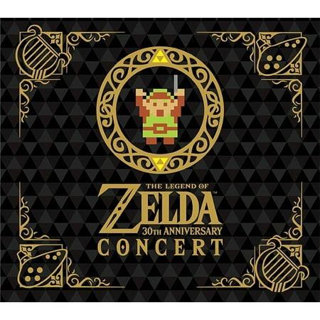 Legend Of Zelda: 30Th Anniversary Concert (CD) (Best Legend Of Zelda Music)