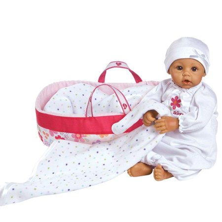 0e4da8a8c Adora Nurserytime Medium Skin with Brown Eyes 16 Baby Doll - Walmart.com