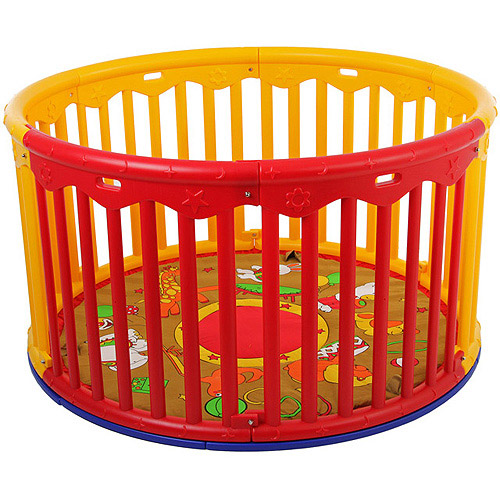 Dream On Me Circular Playard