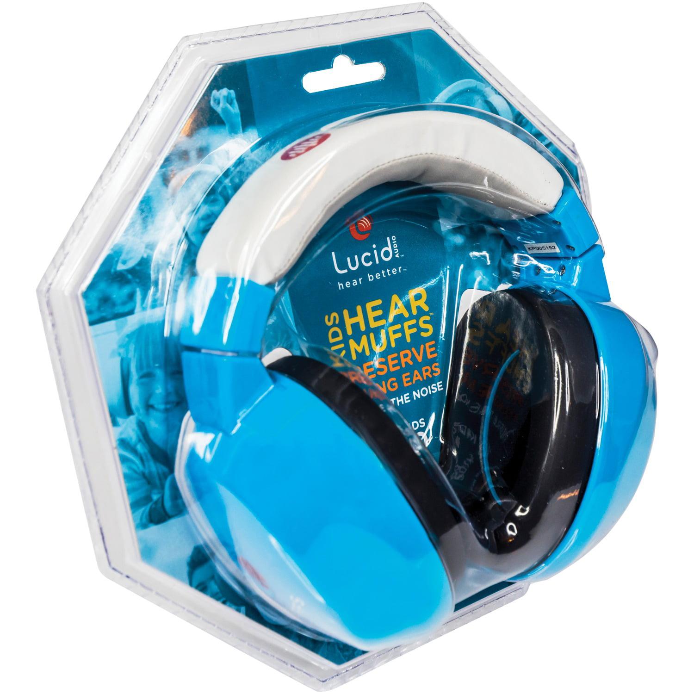 Blue Lucid Audio Hearmuffs Kids Hearing Protection