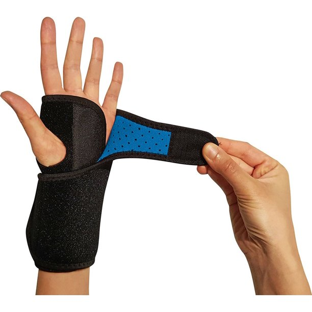 Riptgear Wrist Brace For Women And Men With Removable Splint Left