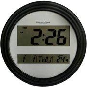 Digital Wall Clock Walmart Com