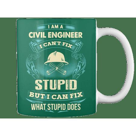 Civil Engineer - Limited Edition. - 11oz Ceramic Coffee Mug