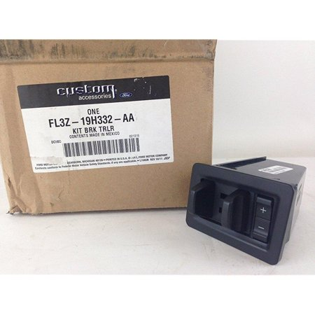 oem factory stock 2015 ford f-150 f150 dash trailer brake control module kit