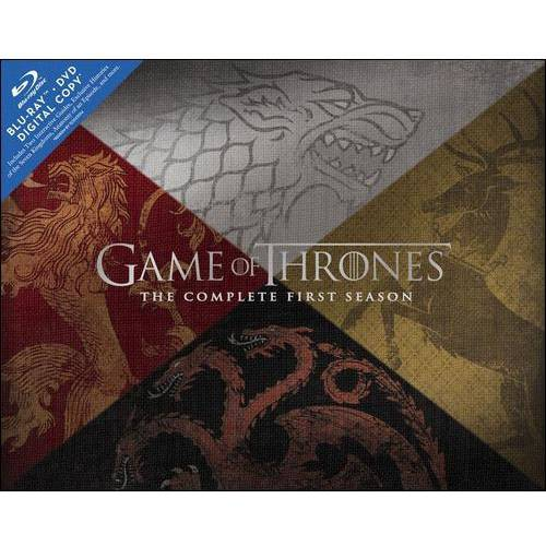 Game Of Thrones: The Complete First Season (Collector's Edition) (Blu-ray + DVD + Digital Copy + Dragon Egg Paperweight)