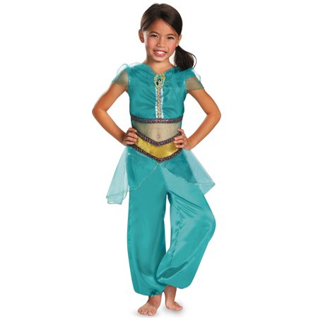 Disney Princess Jasmine Sparkle Classic Child - Princess Jasmin Costumes