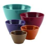 Rachael Ray 5 Piece Cucina Melamine Nesting Measuring Cups, Assorted