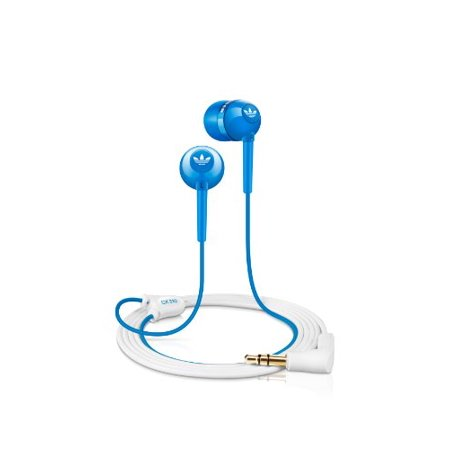 Sennheiser CX310 Stylish In-ear headphone featuring the Adidas logo and Bass-Driven sound - Blue ()