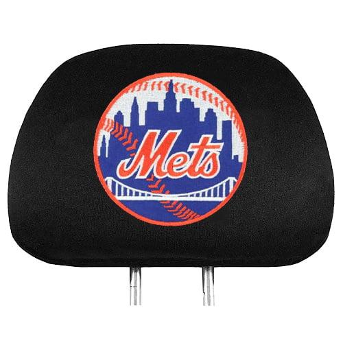 MLB New York Mets Headrest Covers