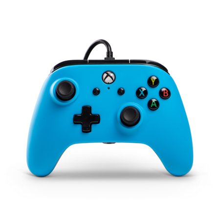 PowerA Wired Controller for Xbox One - Blue (Blue Controller)
