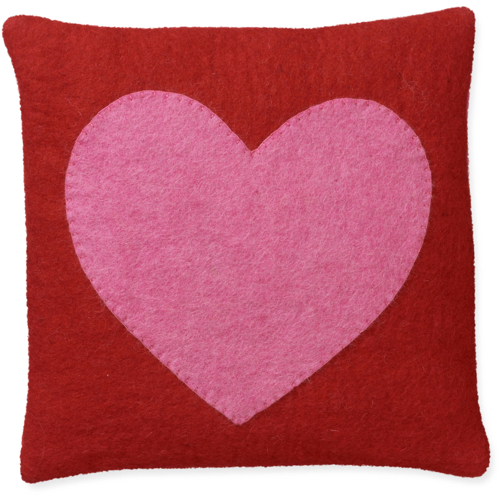 """**fast Track**12"""" Heart Toss Pillow By F"""