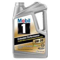 Mobil 1 Extended Performance Full Synthetic Motor Oil 0W-20, 5 qt.