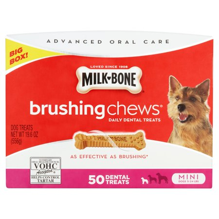Milk Bone Brushing Chews Dog Treats  19 6 Oz