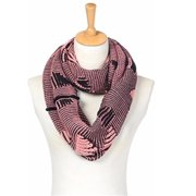 Mad Style 1671B Illusion Infinity Scarf - Pink
