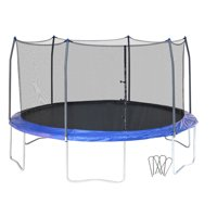 Skywalker Trampolines 16' Trampoline, with Wind Stakes, Blue