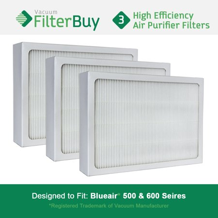 3 - Blueair 500/600 Series Particle Filters  Designed by