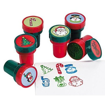 Holiday Stampers (24 Pack) Christmas Stamps Assortment ()