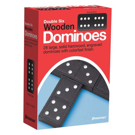 Jumbo Double Six Dominoes - DOUBLE SIX DOMINOES