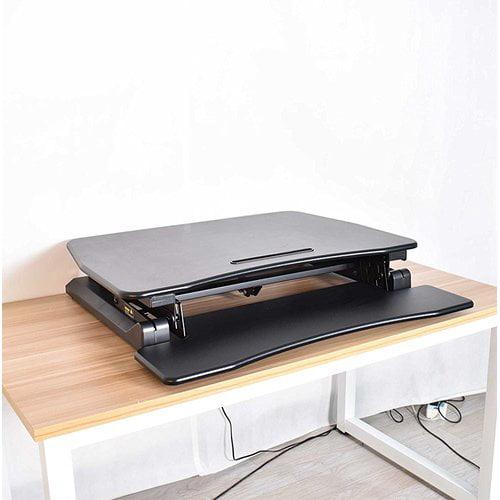 Symple Stuff Kellum Sit to Stand Tabletop Workstation Standing Desk Converter