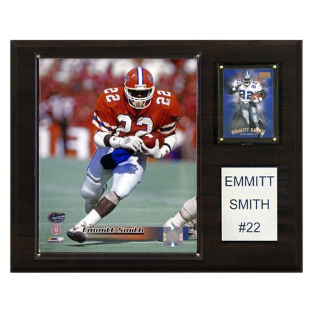 C&I Collectables NCAA Football 12x15 Emmitt Smith Florida Gators Player Plaque