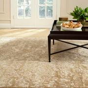Martha Stewart  by  Damask Honeycomb Wool/ Viscose Rug (8' 6 x 11' 6)
