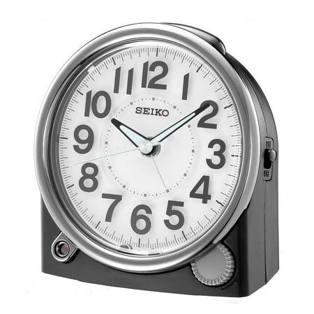Seiko Modern Bedside Alarm Clock