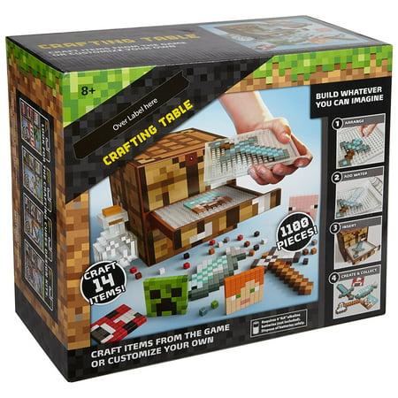 Mattel Minecraft Crafting Table Walmart Com