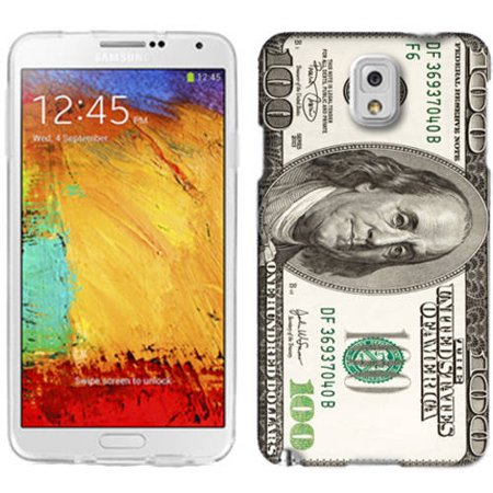 Mundaze Hundred Dollar Phone Case Cover for Samsung Galaxy Note 3 ()