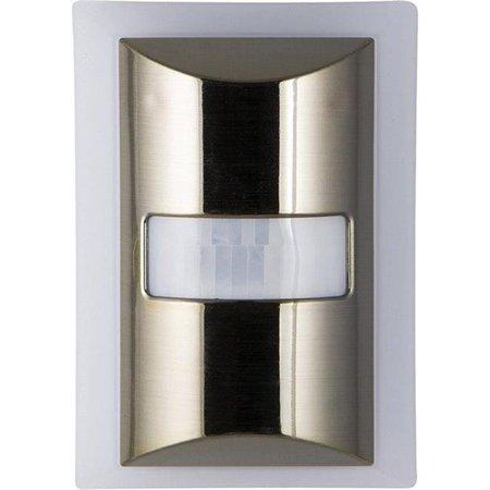 Ger RA49142 Veilleuse - DEL avec acc-l-ration de mouvement de 60 lumens, nickel bross- - image 1 de 1