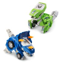 Switch & Go Dinos 2-Pack Blue Triceratops Green T-Rex Vtech 80204720