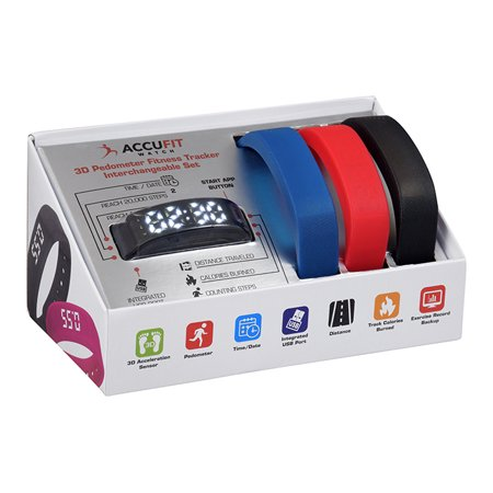 3 in 1 ACCUFIT TRACKER INTERCHANGEABLE STRAPS