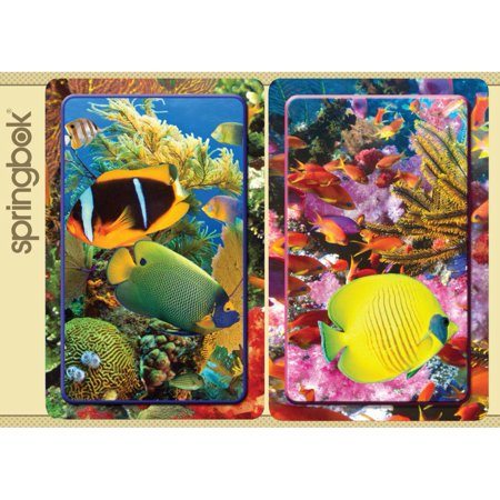 Springbok Aquatic Collection Jumbo Print Index Playing Cards (Print Playing Cards)