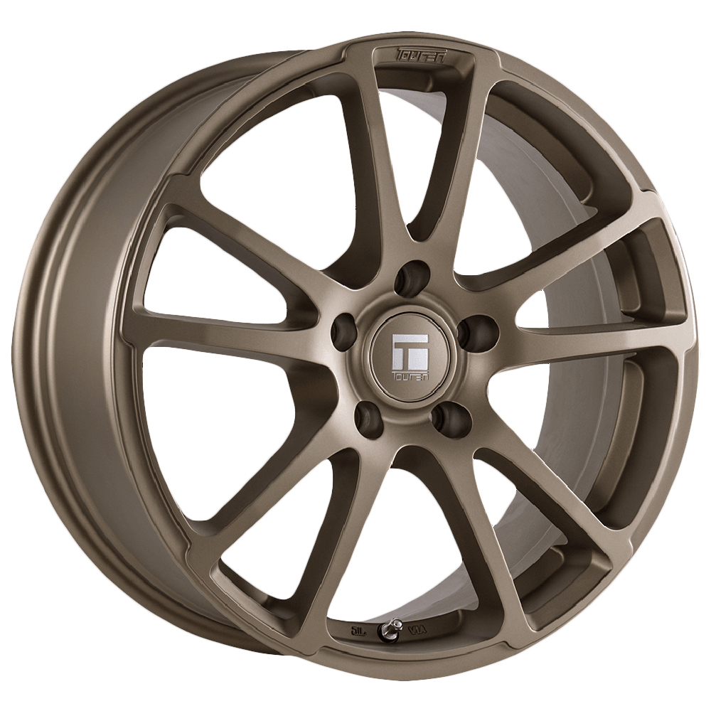 "17"" Inch Touren TF03 Flow Formed 17x7.5 5x108 +40mm Matte Bronze Wheel Rim"