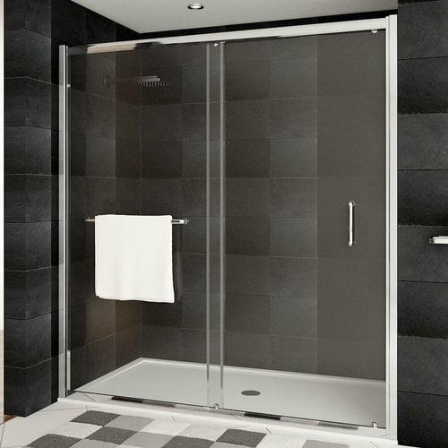 LessCare Ultra-A 24.75'' x 76'' Bypass Sliding Shower Door