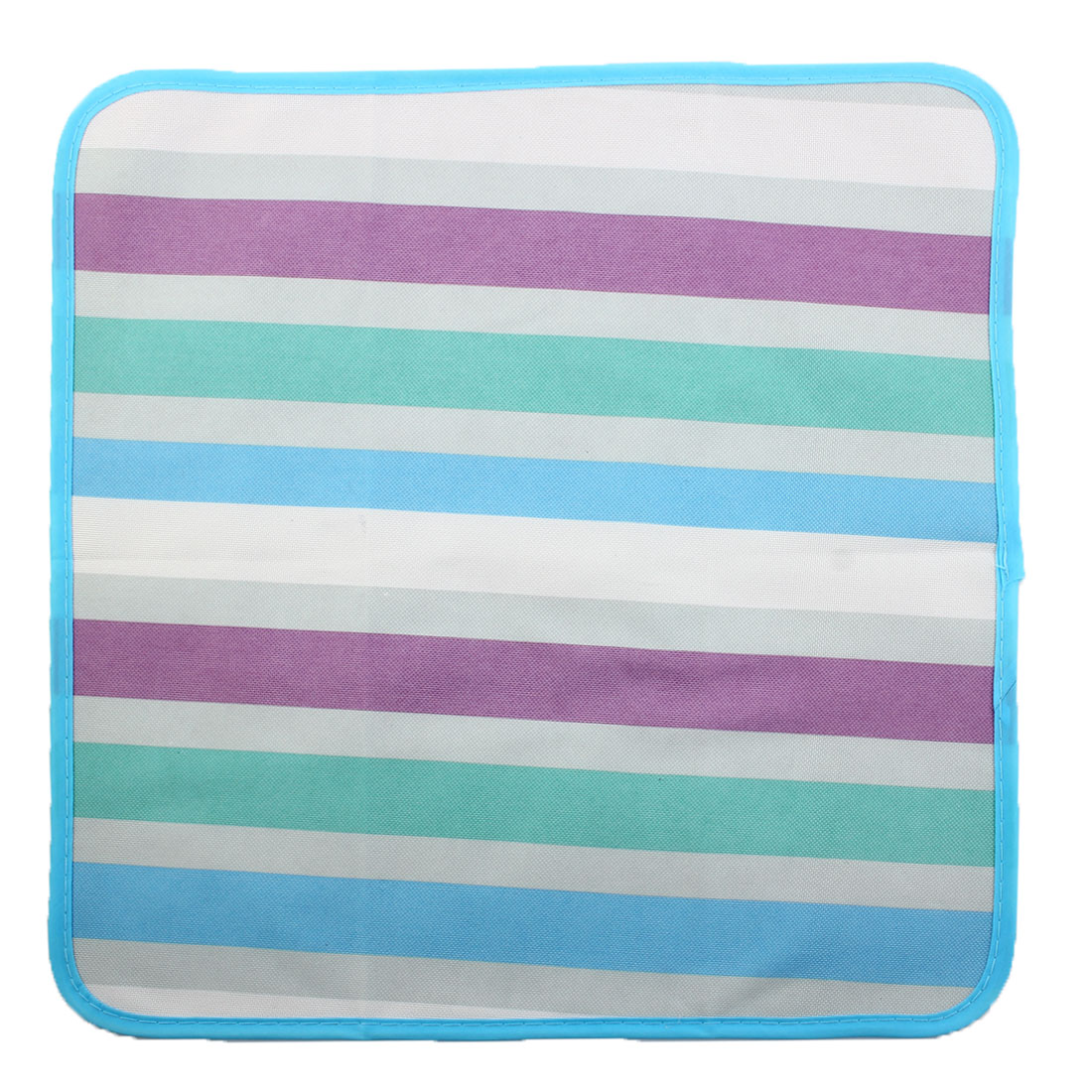 Outdoor Travel Stripe Print Water Resistant Picnic Blanket Foldable Camping Pad