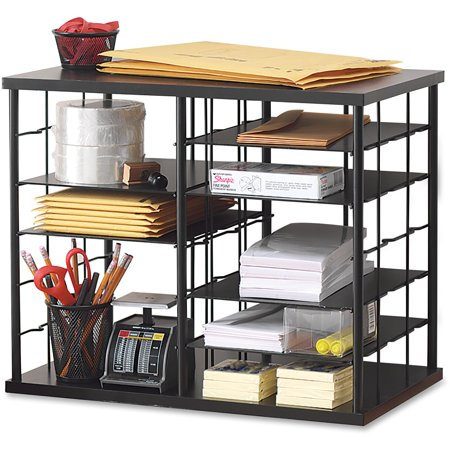 Rubbermaid Desk Accessories - Rubbermaid, RUB1738583, 12-Slot Compartment Organizer, 1 Each, Black