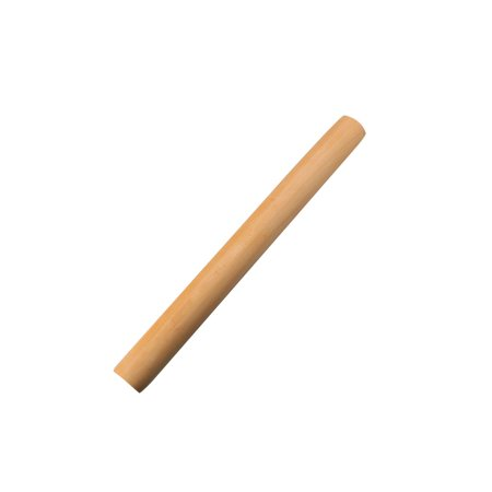 Kitchen Tool Wooden Rolling Pin Dough Roller for Making Bread Pizza Cookies (Halloween Pizza Cookie)