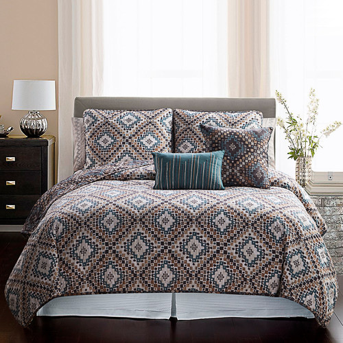 Luxury Home Topaz 7 Piece Quilt Set