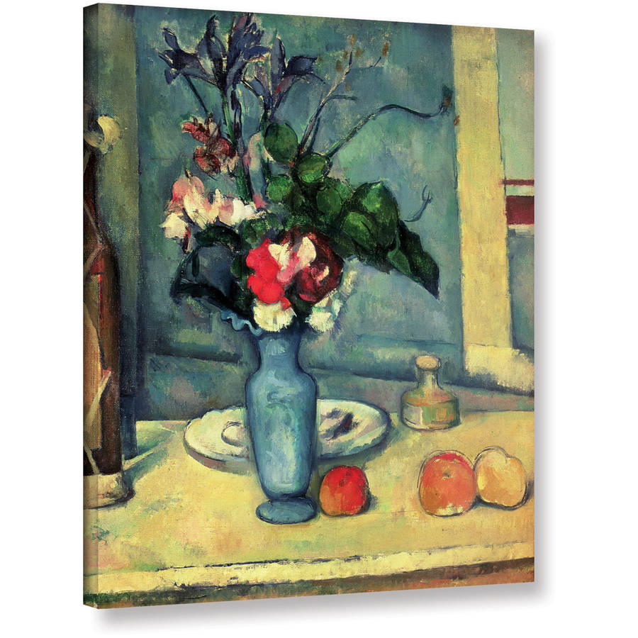 """Paul Cezanne """"The Blue Vase"""" Gallery-wrapped Canvas Art"""