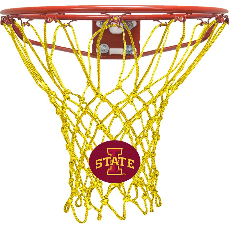 Krazy Netz Iowa State University Cardinal Red Basketball Net