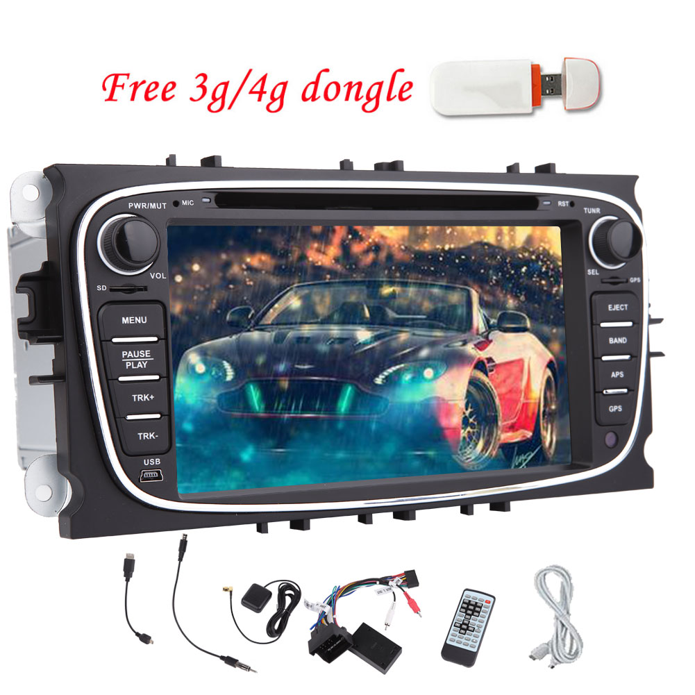 Android 5.1.1 Car DVD Player Quad Core CPU GPS Car Stereo for Ford S-max 2008-2012 Focus 2008-2010 Galaxy... by EinCar