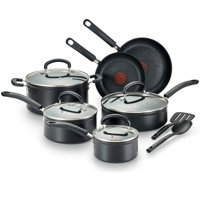 T-Fal, Excellence 12 Piece Set, Titanium Nonstick Dishwasher Safe Cookware Set