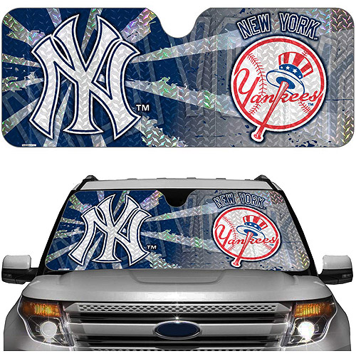 New york yankees mlb auto sunshade